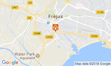 Karte Fréjus Studio 105544