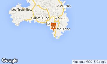 Karte Sainte Anne (Martinique) Studio 54186