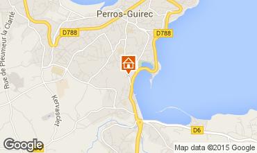 Karte Perros-Guirec Haus 77846