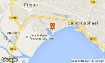 Karte Fréjus Studio 76235