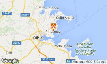 Karte Olbia Appartement 79683
