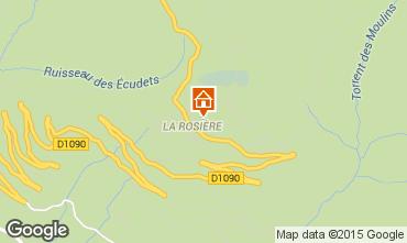 Karte La Rosière 1850 Appartement 100636