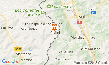Karte Châtel Studio 106744
