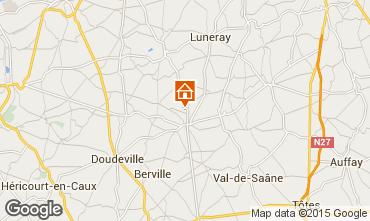 Karte Saint Valéry en Caux Haus 11925