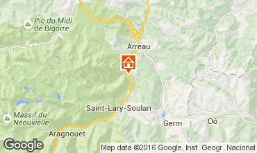 Karte Saint Lary Soulan Haus 102631