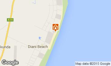 Karte Diani beach Villa 36939