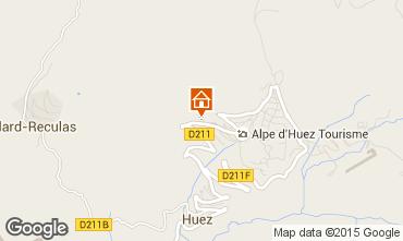 Karte Alpe d'Huez Appartement 27866