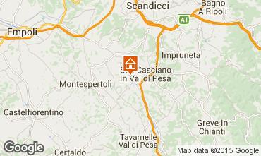Karte Florenz Appartement 73139