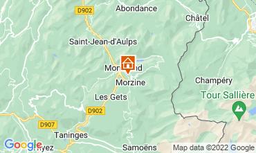 Karte Morzine Chalet 76329