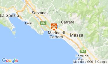 Karte Carrara Appartement 30656