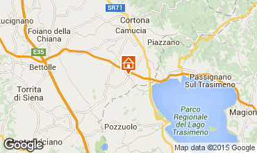 Karte Cortona Haus 79432
