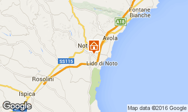 Karte Noto Villa 82200