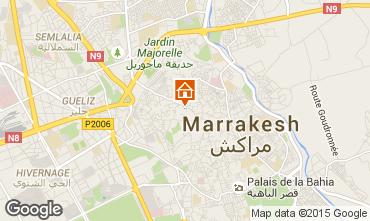 Karte Marrakesch Haus 28351