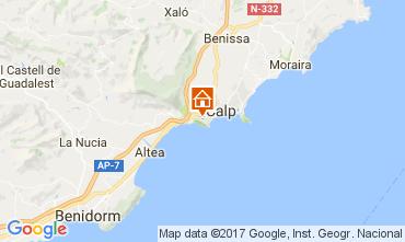 Karte Calpe Villa 108096