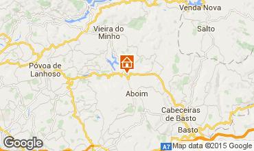 Karte Vieira do Minho Ferienunterkunft auf dem Land 40725