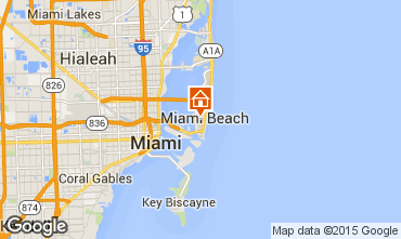 Karte South Beach Appartement 33596