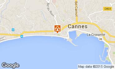 Karte Cannes Appartement 66651