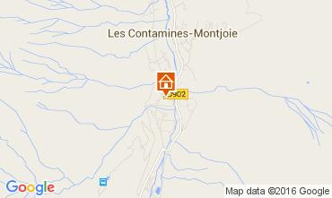 Karte Les Contamines Montjoie Chalet 105403