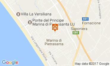 Karte Marina di Pietrasanta Villa 107871