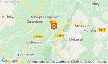 Karte La Bresse Hohneck Studio 29084