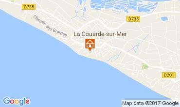Karte La Couarde-sur-Mer Appartement 81402