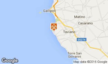Karte Gallipoli Villa 102189