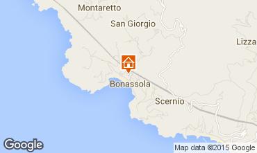 Karte Bonassola Appartement 39309
