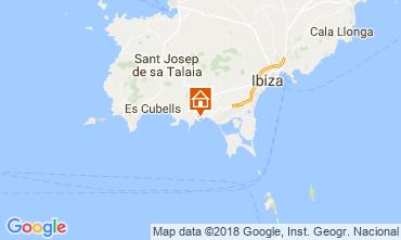 Karte Ibiza Fremdenzimmer 113290