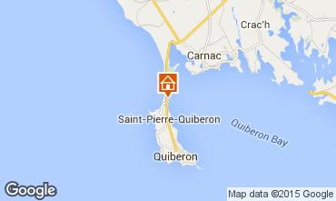 Karte Quiberon Villa 74926
