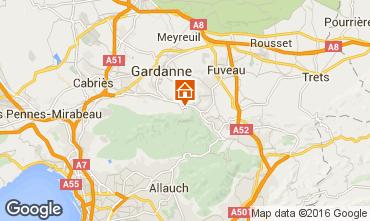Karte Aix en Provence Appartement 21175
