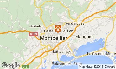 Karte Montpellier Studio 101180
