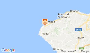 Karte Tropea Appartement 113235