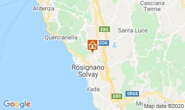 Karte Rosignano Marittimo Villa 108856