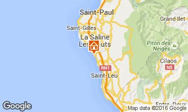 Karte La Saline les Bains Villa 102826