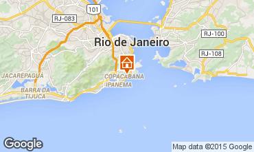 Karte Rio de Janeiro Appartement 51824