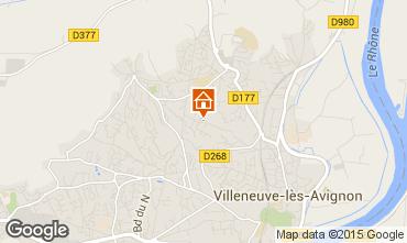 Karte Avignon Villa 77033