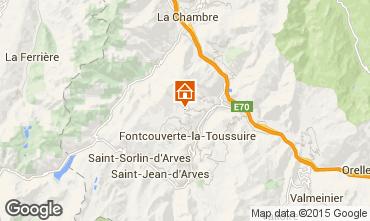 Karte La Toussuire Appartement 36861