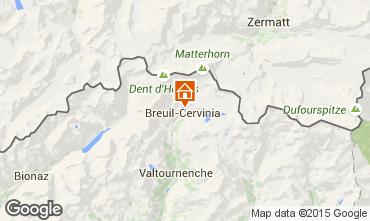 Karte Cervinia (Breuil) Appartement 89092