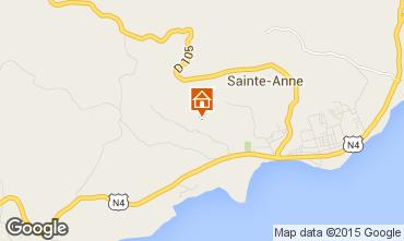 Karte Sainte Anne (Guadeloupe) Haus 8025