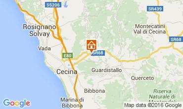 Karte Cecina Appartement 58810