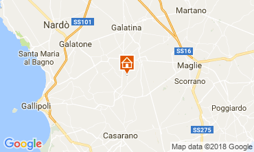 Karte Casarano Villa 113763