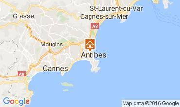 Karte Antibes Appartement 106323