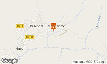 Karte Alpe d'Huez Appartement 40228