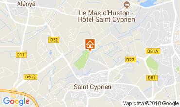 Karte Saint Cyprien Villa 113395