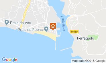 Karte Praia da Rocha Villa 117009