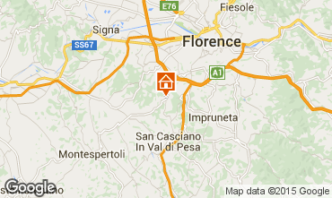 Karte Florenz Appartement 80195