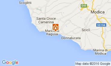 Karte Marina di Ragusa Appartement 22307
