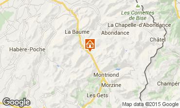 Karte Saint Jean d'Aulps- La Grande Terche Chalet 27503