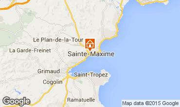 Karte Sainte Maxime Villa 94309