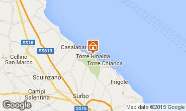 Karte Lecce Appartement 99837